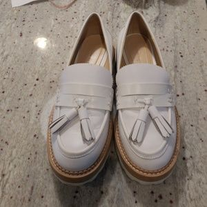 Zara woman platform loafers
